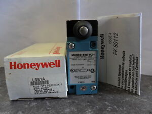 New Honeywell Micro Switch Lse1a Heavy Duty Limit Switch 600 Vac 10 Amp Nib