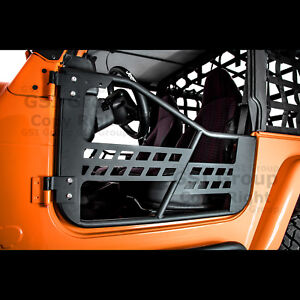 Rock Crawler Body Armor Tubular 2 Door Replacement For 97 06 Jeep Wrangler Tj