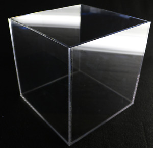 Large Acrylic Display Box Collectible Display Case Clear Store Display 10 x10x10