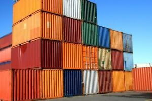 Iso Shipping Container 20 40 Storage Containers conex In Good Condition