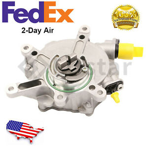 New Brake Vacuum Pump Fits 11 17 Mercedes Benz S550 S63 Ml350 Gl450