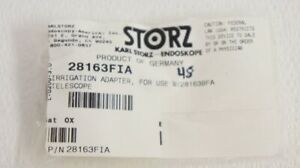 Karl Storz 28163fia Irrigation Adapter For Use With 28163bfa Telescope