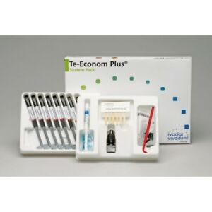 Ivoclar vivadent teeconom plus system pack dental resin composite