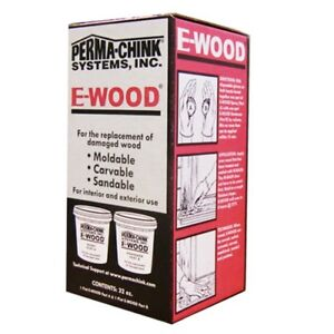 Ewood Epoxy Wood Putty 32 Oz