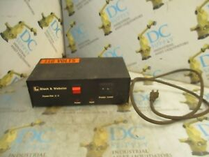 Air Hydraulics Black Webster Power Pak 2 4 110 V Power Supply