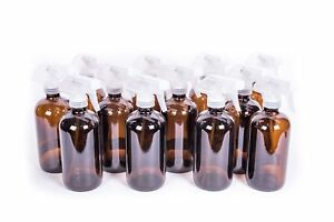 My Oil Gear 8oz Amber Glass Bottle With Trigger Sprayer For Essential Oils