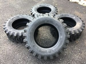 4 New 12 16 5 Skid Steer Tires Camso Sks332 12x16 5 For Bobcat Others