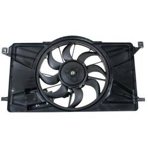 For Ford Focus 12 18 Radiator Condenser Cooling Fan Motor W Module