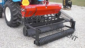 Food Plot Drill Broadcast Seeder Seed Drill 6 Kasco Plotters Choice Combo