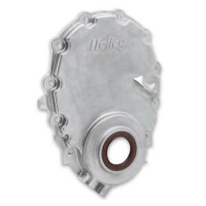 Holley Engine Timing Cover 21 152 Natural Cast Aluminum For 96 Up Chevy Vortec