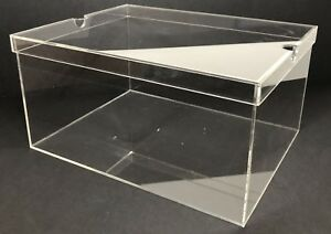 Acrylic Sneaker Shoe Box Display Box Display Cases Showcase Box Superior Quality