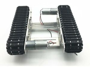 Diy Smart Robot Tank Chassis Car With Crawler Kit For Arduino Uno R3