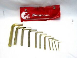 Snap On C15b 11pc Allen Wrench Set Elm
