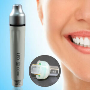 Ultrasonic Piezo Dental Scaler Handpiece With Led Light Fit For Ems Woodpecker