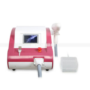 Q switched Nd Yag Laser Tattoo Removal Flecks Eyebrow Pigment therapy Machine