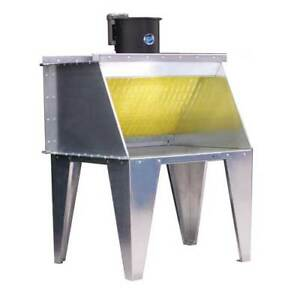 3 Bench Type Paint Spray Booth Made By Paasche In The Us new