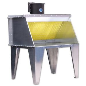 6 Bench Type Paint Spray Booth Made By Paasche In The Us new
