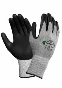 Lot Of 12 Pairs Ansell Hyflex Size 10 Cut Resistant Gloves 11 435 Work Gloves