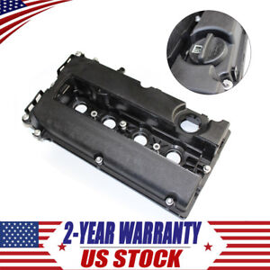Black Engine Valve Camshaft Rocker Cover 55564395 For Chevrolet Cruze Sonic Aveo