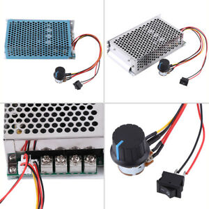 10 50v 100a 5000w Dc Motor Speed Controller Pwm Control Switch Governor Ams