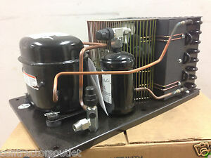 New Indoor 1 4hp Tecumseh Condensing Unit 115v Low Temp 404a Aea2410zxaxc