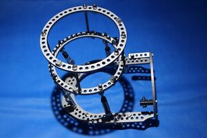 Orthofix Surgical Orthopedic Titanium Fixation Ring Set Double Row Foot Plate