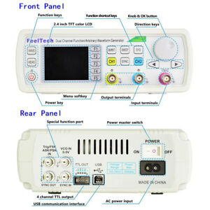 Fy6600 60mhz Dual channel Signal Generator Arbitrary Waveform Frequency Meter Us