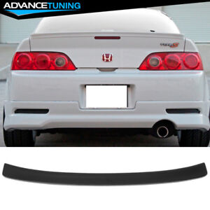 Fits 02 06 Acura Rsx Dc5 Type R Unpainted Abs Rear Trunk Duck Lip Spoiler Wing