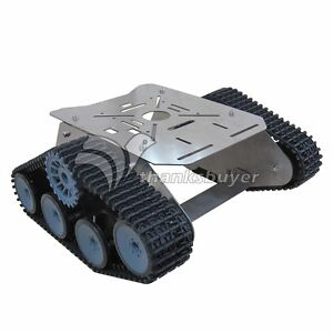 Anycbot Robot Smart Racing Car Stainless Steel Track Vehicle Chassis Kit For Diy