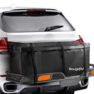 Bougerv Cargo Bag Waterproof Hitch Mount Carrier 48 X 21 7 20 1 Car Box