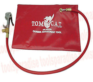 Tom Cat Auto Wheel Alignment Camber Air Adjustment Tool 2ft Hose And Air Bladder