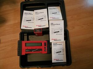 Snap On Tools Diagnostic Scanner Mt2500 With Case One Cartridge