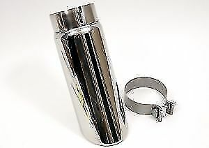 Chevrolet Silverado Gmc Sierra Polished Exhaust Tip For 6 2l Only Gm 23435023