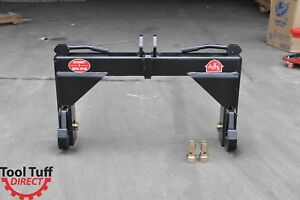 Tool Tuff 3 point Tractor Quick Hitch Category Cat 2 Farm Implement W bushings