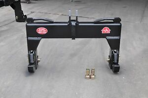 Tool Tuff 3 point Tractor Quick Hitch Category Cat 2 Hd Farm Implement W bush