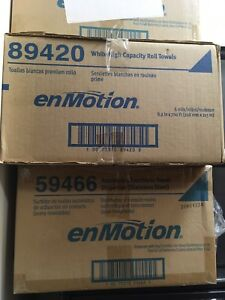 Brand New Gp enmotion 59466 Automated Touchless Paper Towel Dispenser s s