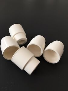 White Rubber Septum Septa Stoppers For 24 40 Glassware Sleeve Free Shipping
