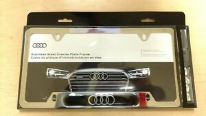 Audi Oem License Plate Frame | Glass House Online Automotive