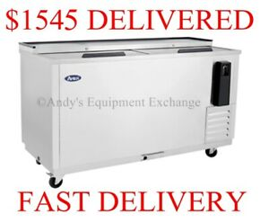 65 5 Feet 5 Inch Back Bar Bottle Cooler Chiller Refrigerator Beer Bottles Nsf