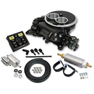 Sniper Fuel Injection System Kit 550 850k Master Kit 350hp 580cfm Black Ceramic