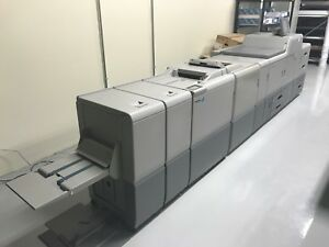 Ricoh Pro C751 Digital Press With Plockmatic Finisher Printing Equipment