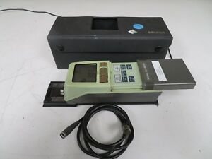 Mitutoyo Sj 201 Profilometer Surface Finish Tester Complete Tested Surftest Mw37