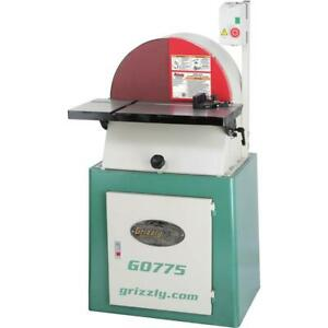 Grizzly G0775 20 Heavy duty Disc Sander