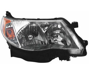 Hid Headlight Assembly W ballast Right Passenger Side For 09 13 Subaru Forester