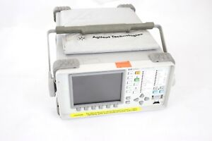 Agilent 37718a Omniber 718 Communications Performance Analyzer Damaged