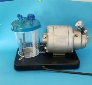 Gomco Model 792 Aspirator vacuum Pump With Canister
