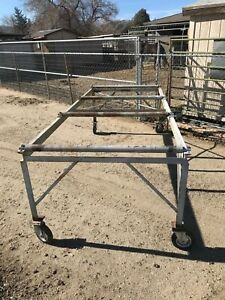 Industrial Commercial Rolling Heavy Duty Steel Cart Utility Workshop