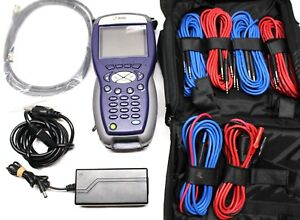Jdsu Hst 3000 Color Screen Acterna Hst 3000 Sim Bundle Cable Tester With Cords