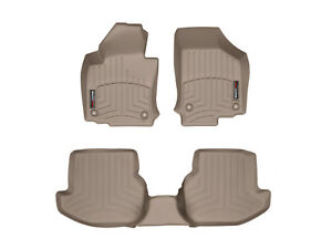 Weathertech Floor Mats Floorliner For Volkswagen Eos 2007 2016 Tan