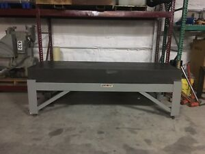Granite Plate Surface Inspection Table 3 x9 x10 Esterline Micro Collins Flat